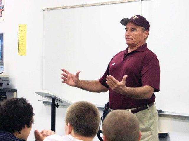 Vaughan introduced as Pride football coach