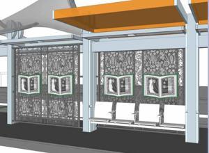 Mesa Drive art concept