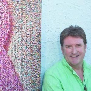 Pink Ribbon Mosaic