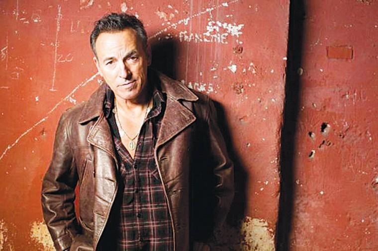 Bruce Springsteen's latest album 'Wrecking Ball'