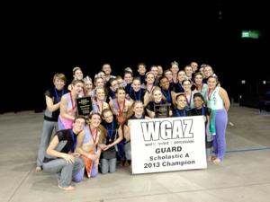 Two TUHSD schools  take 1st and 2nd in Winter Guard Finals