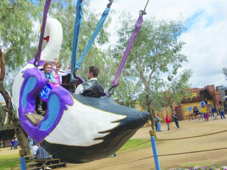 Arizona Renaissance Festival swan ride