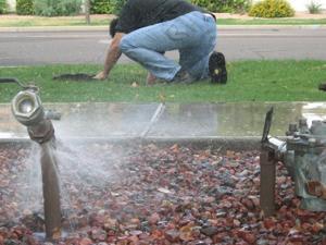 Plumbing theft