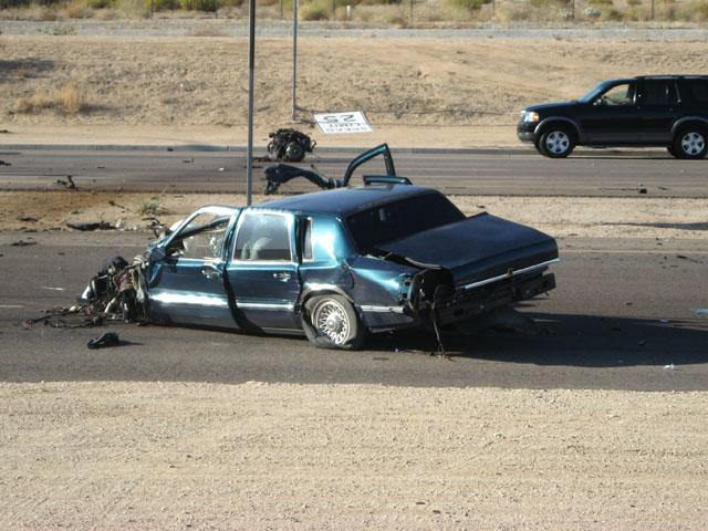 Thursday Pecos Road crash kills 1