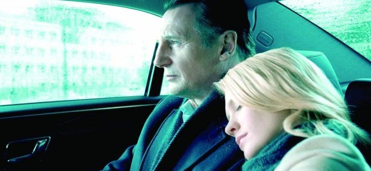 January Jones, Liam Neeson