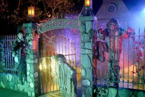 Travel Trip Halloween Attractions