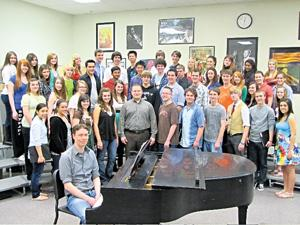 Composer writes music for DV choir students