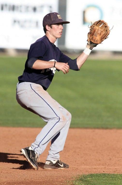 Desert Vista shortstop Casey Thomas