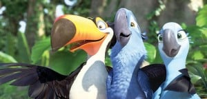 Rio is a great animated, family film