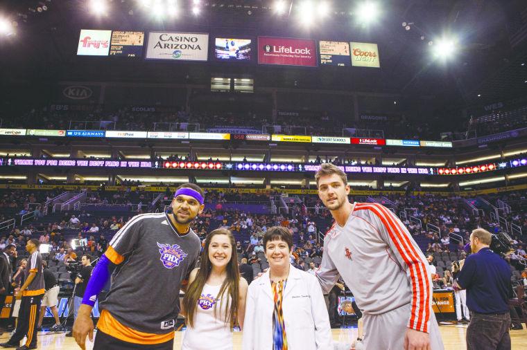 Suns Honor Mackenzie Saunders