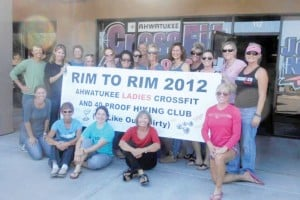 Ahwatukee CrossFit ladies hike the Grand Canyon