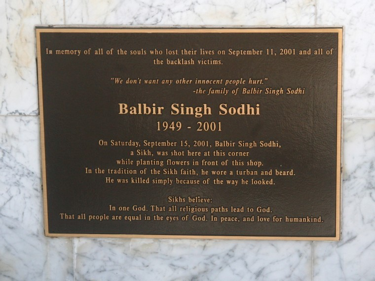 Sodhi monument