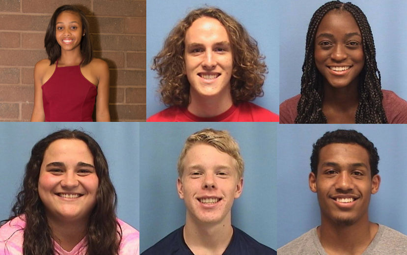 Three freshman males and two freshman females were among the 11 students earning Athlete of the Year awards while Chynna Simmons and Nathan Reinert won the Master Athlete of the Year awards.