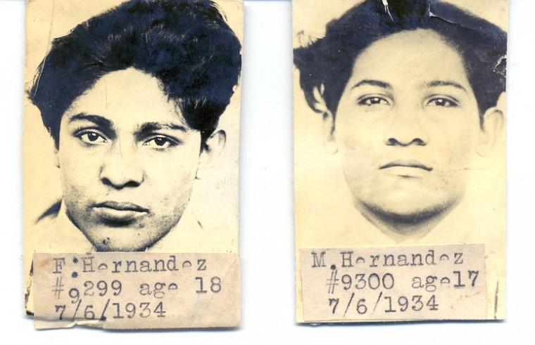 Brothers Manuel and Fred Hernandez