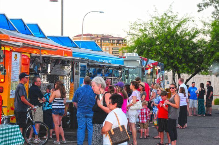 Scottdale's Food Truck Caravan