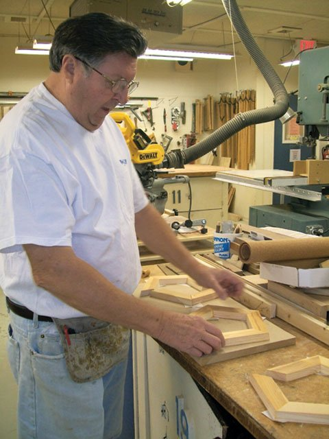 Retirees use woodworking skills to help others