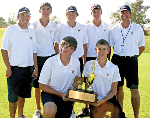 Team effort propels DV boys golf to state runner-up status 