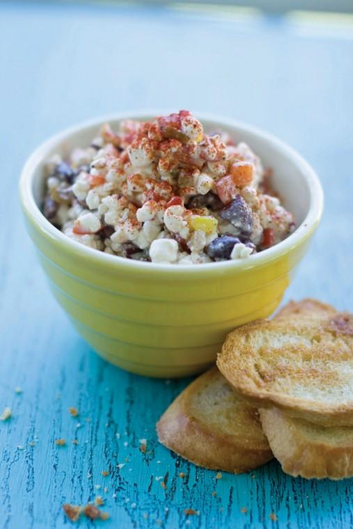 Cottage cheese pepper dip