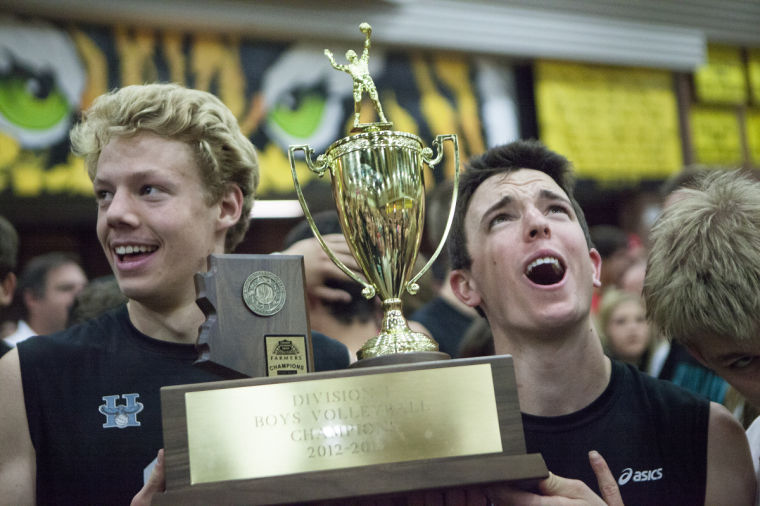 Highland vs Gilbert Volleyball State Championship
