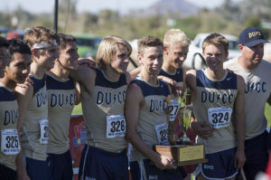 <p>The Desert Vista boys cross country team finished second in the Division I state meet, while the girls won it all for the first time since 2000.</p>