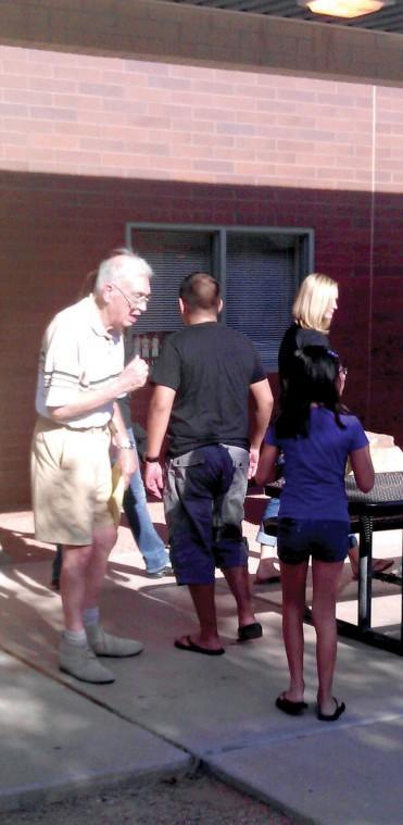 Pecos Senior Center Volunteers