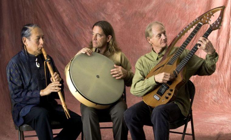 The Carlos Nakai Trio