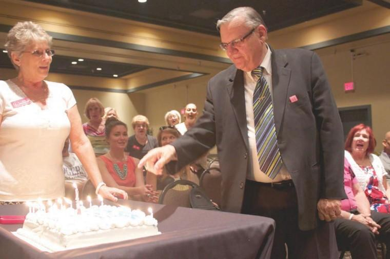Sheriff Joe Arpaio speaks at ARW