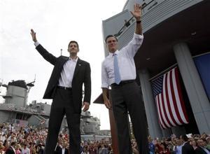 Mitt Romney, Paul Ryan