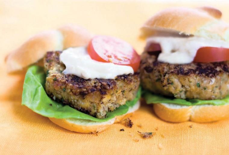 Chickpea sliders