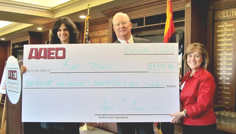 AAED donates to Ryan House