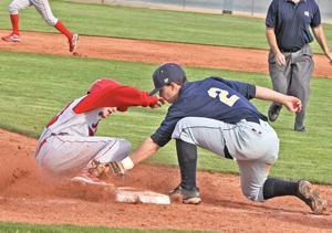 Thunder work on a baseball roster change-up