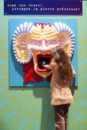 Mouth Grab at Ripley's Believe it or Not
