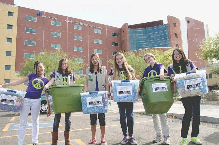 Local Girl Scout Cadet troop earns GS Silver Award