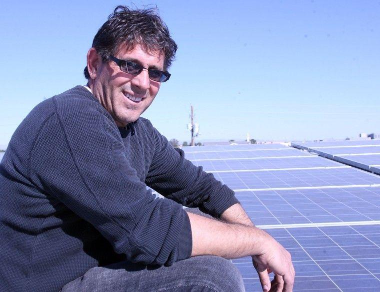 Queen Creek Olive Mill solar units