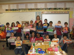 Local school children celebrate Arizona's Centennial