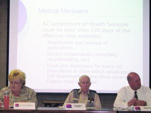 Ahwatukee Foothills Village Planning Committee members discuss P