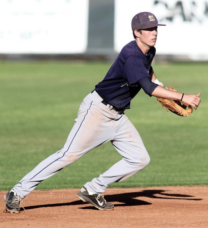 Desert Vista shortstop Casey Thomas