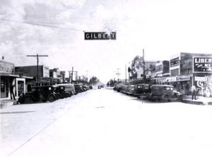 Gilbert main street