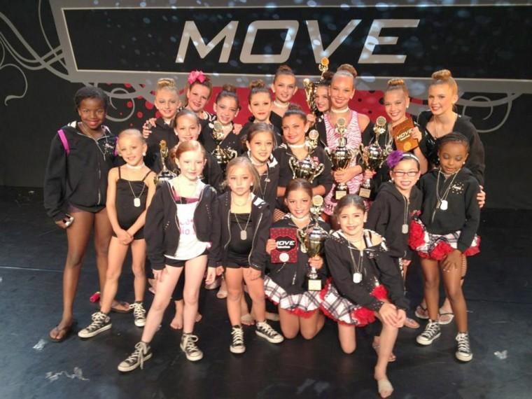 Dance Studio 111 wins the National Grand Championship in California