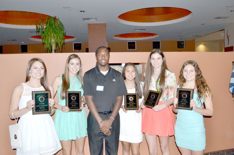 Winter sports athletes honored