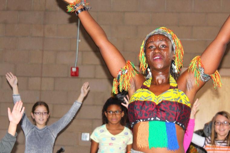 """The African Performers"" visit Keystone Montessori School"