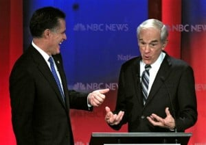 Mitt Romney, Ron Paul