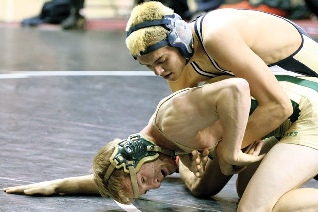 DV soph Mathers wins 112-pound state mat title