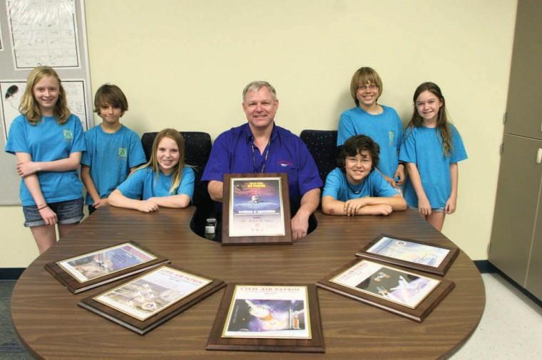 Arlen Sykes wins the Aerospace Education Excellence Award