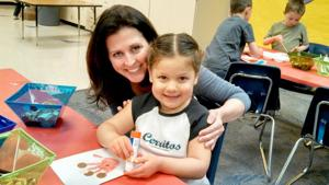 Kyrene de los Cerritos Kids Care club appreciates Ahwatukee's fi