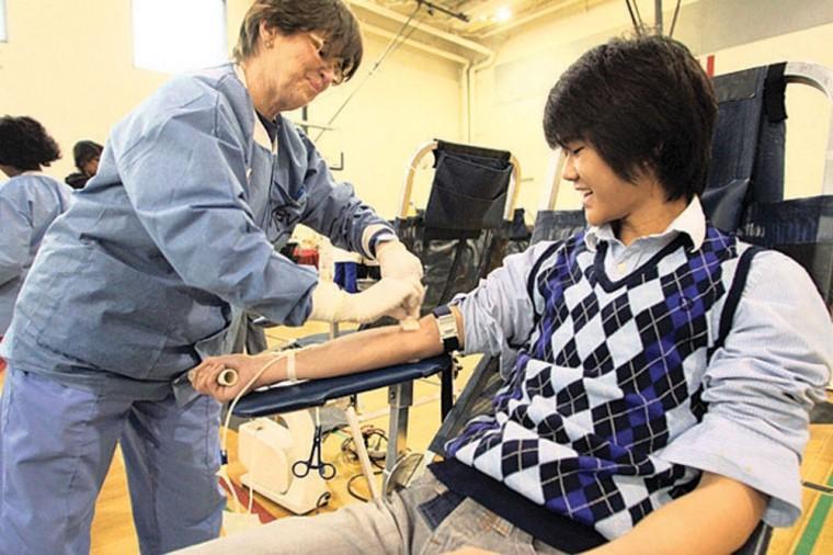 Desert Vista blood drive