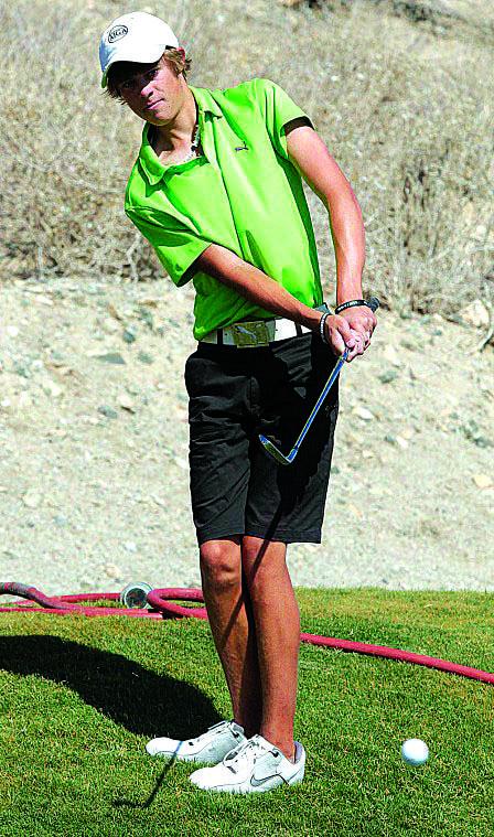Desert Vista boys golf