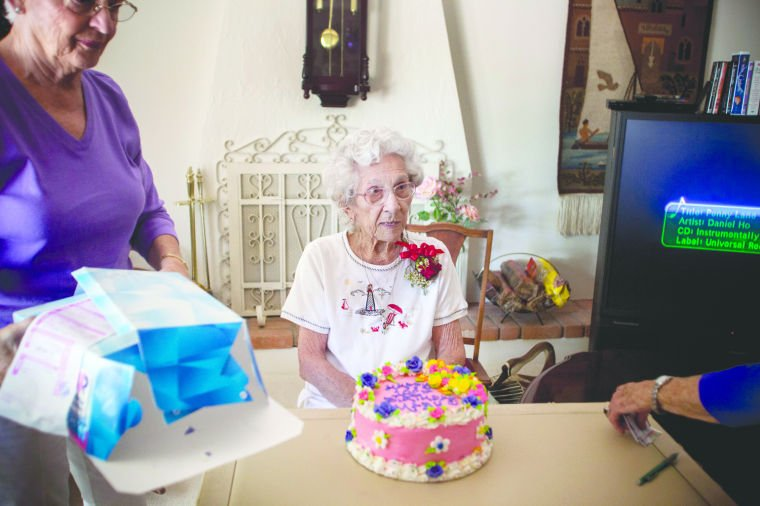 Mary Mitchell's 102nd Birthday