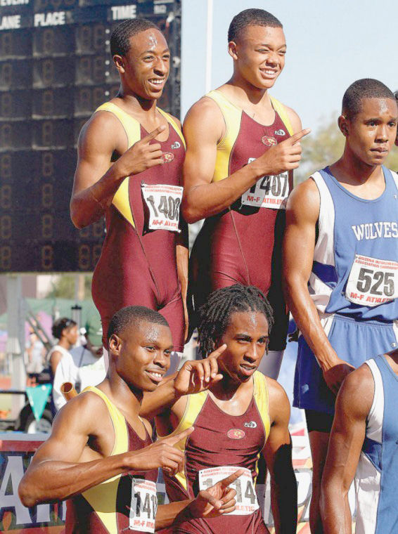 Mountain Pointe relay team