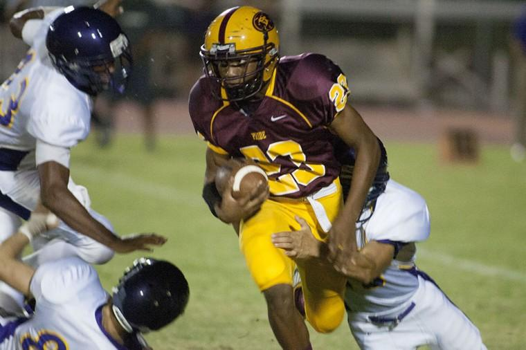 Football: MP vs Mesa